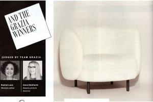 The Hepworth Armchair - Winner in the Grazia Interior Awards