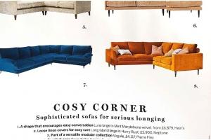 The Jake Corner Sofa in Homes & Gardens