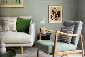 The Ottilie Sofa featured in Livingetc
