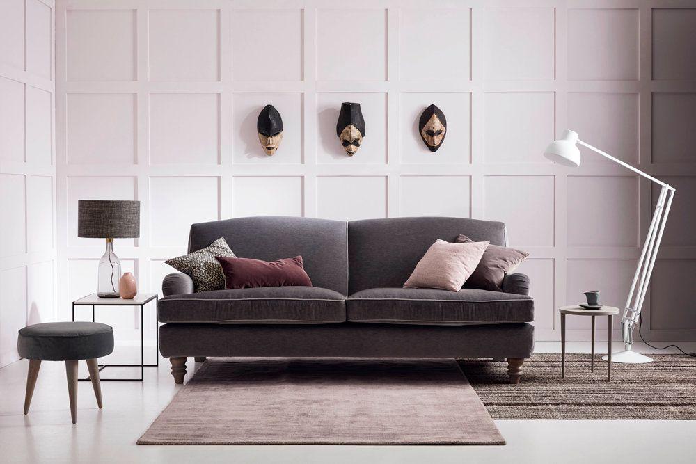 Eliza - Classic Sofa - Mohair Dove Fabric