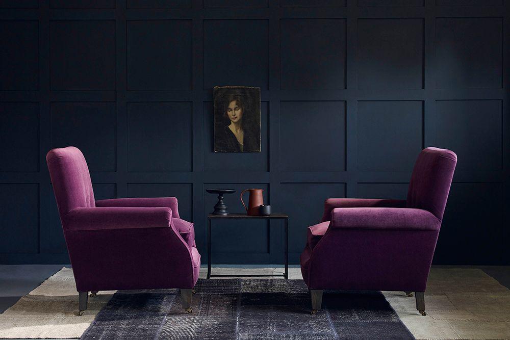 Upholstered Armchair - Elsa