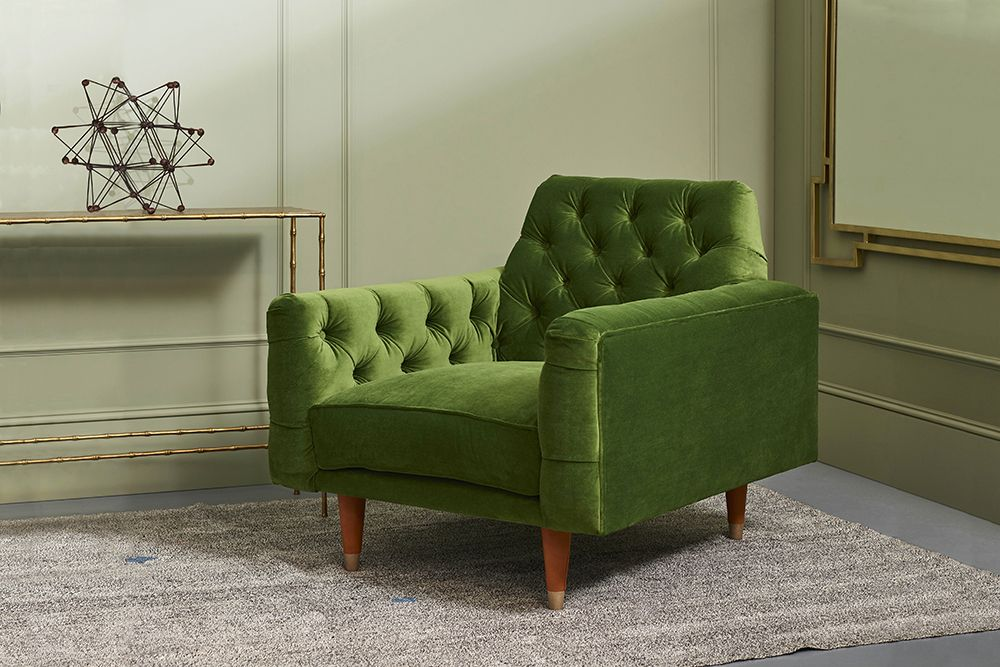 Gladstone Buttoned Armchair