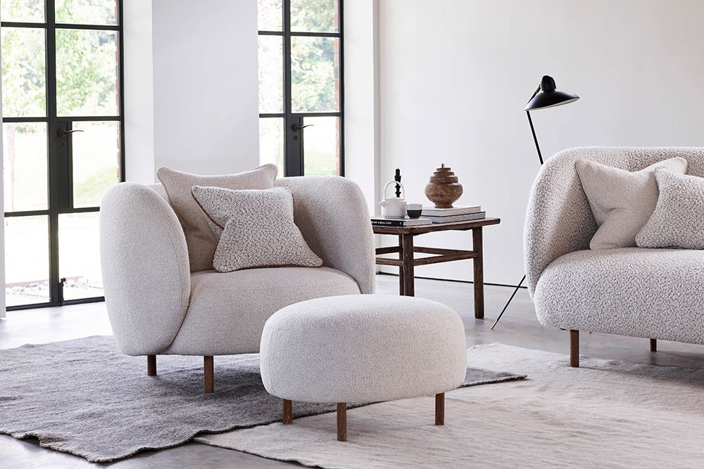 Hepworth Armchair & Footstool