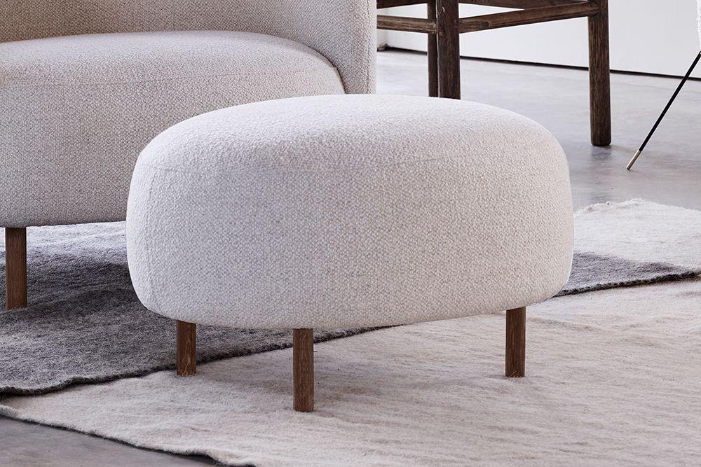 Hepworth Curved Footstool