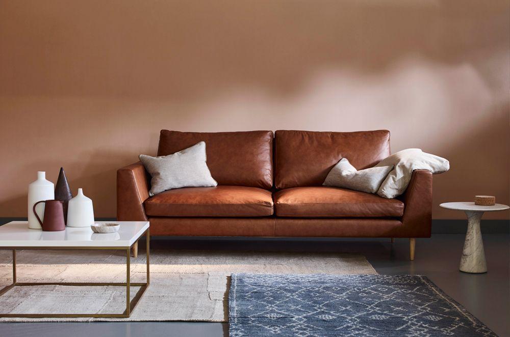 Jake Modern Sofa Love Your Home, Modern Tan Leather Sofa