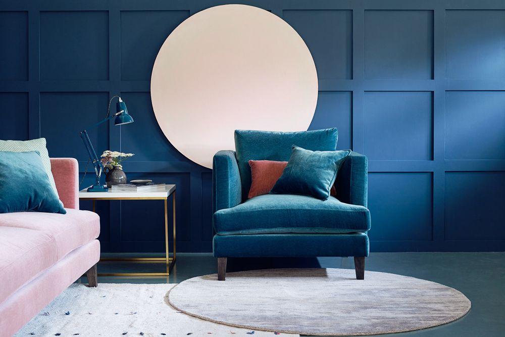Modern Mohair Chair