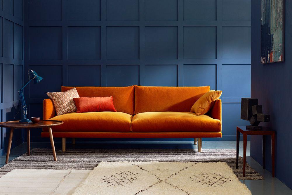 Modern Mohair Sofa