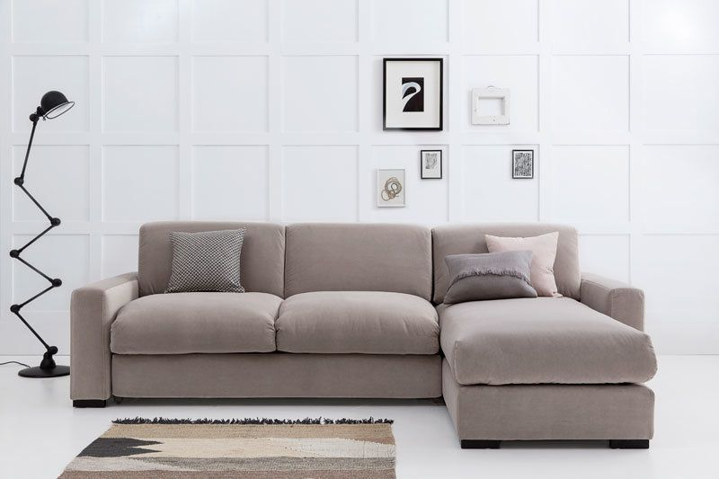 Henry Corner Sofa Bed with Chaise Longue