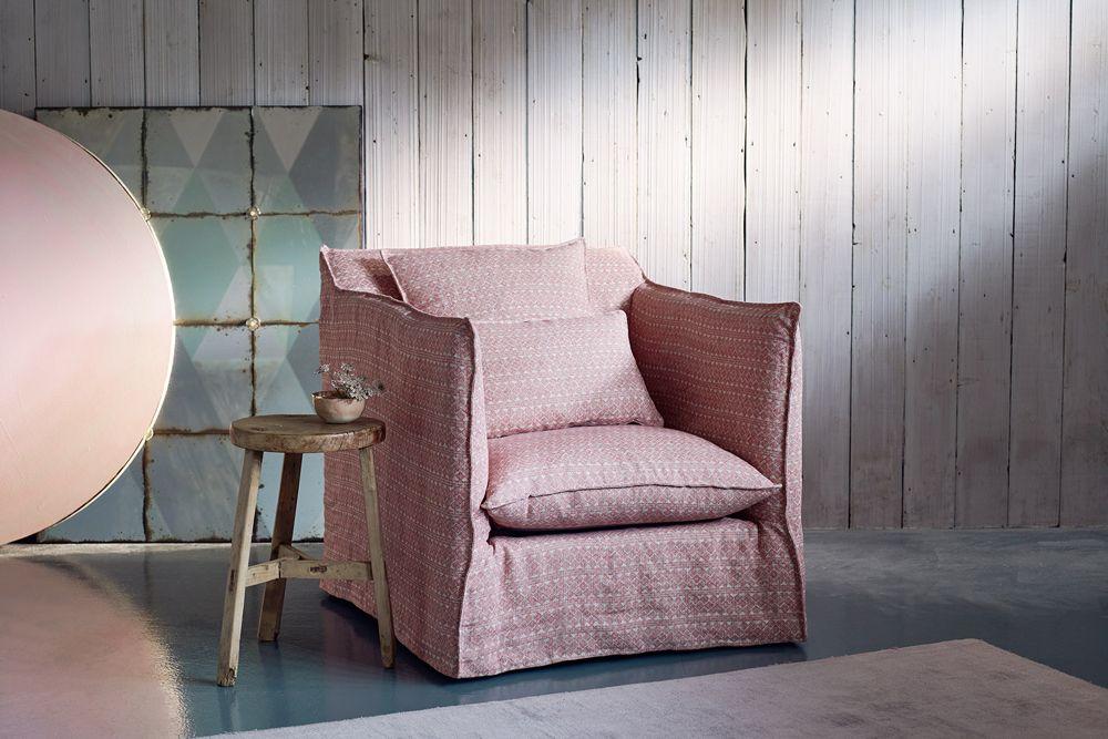 Loose Cover Modern Armchair
