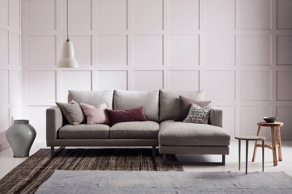 Hetor Chaise Corner Sofa