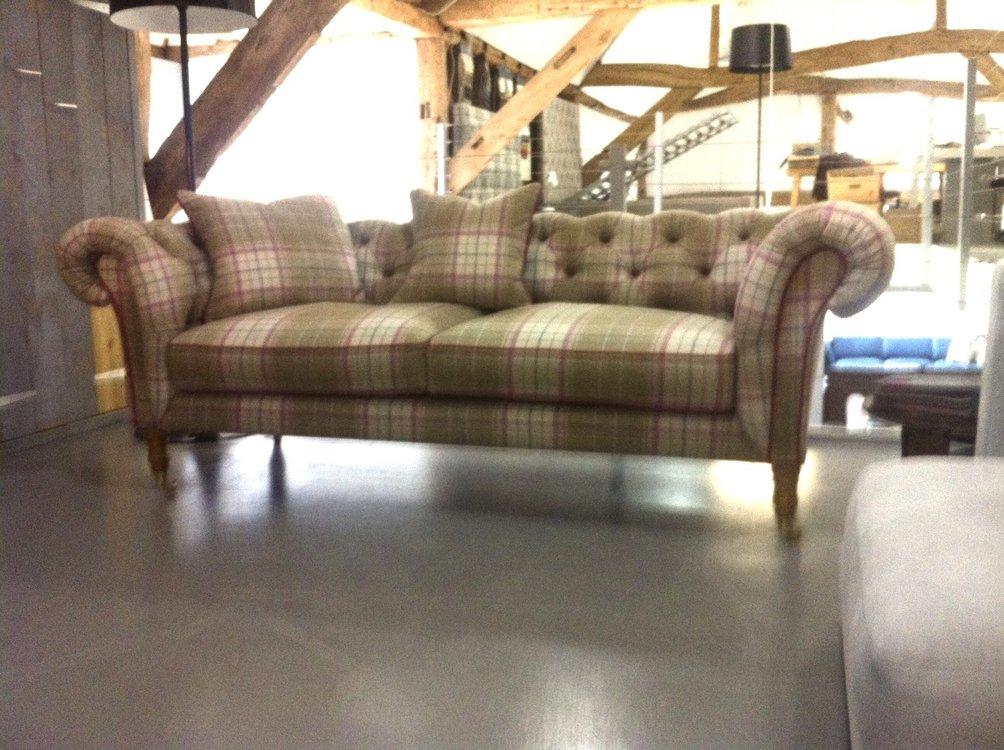 The New Charlotte Chesterfield Sofa