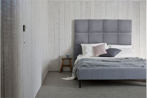 The Beatrice Modern Panelled Bed