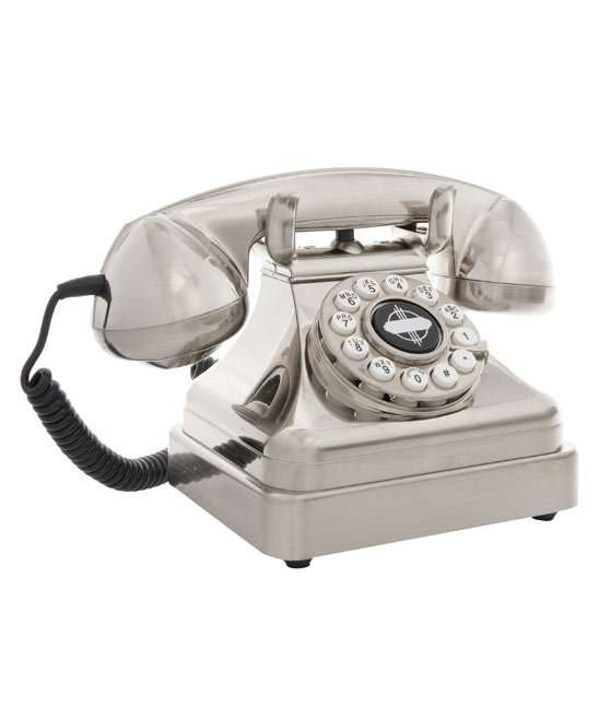 Silver Home Phone