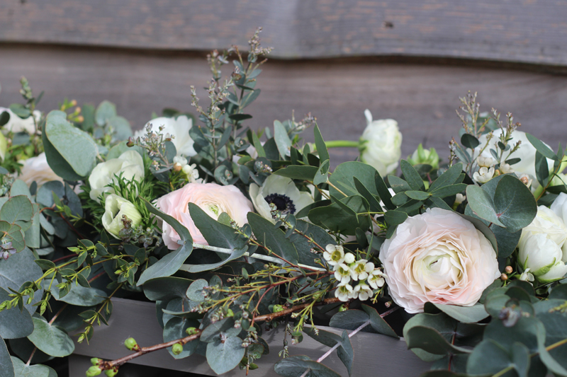 Bridal arrangement Pod and Pip