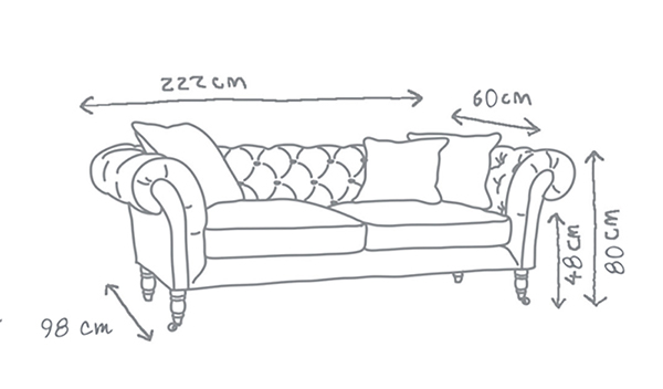 Chesterfield Sofa Charlotte Love Your Home