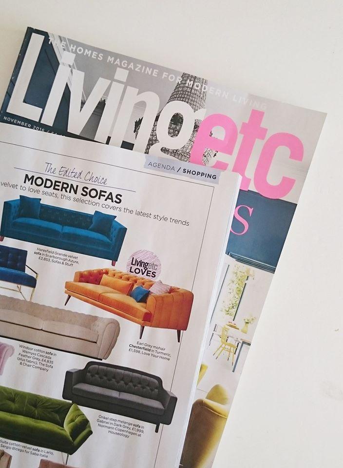 Earl Grey sofa in LivingEtc