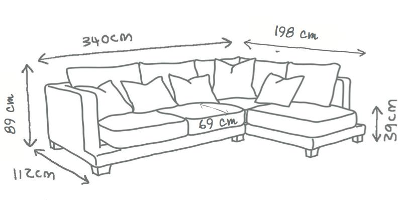 Grace Corner Sofa
