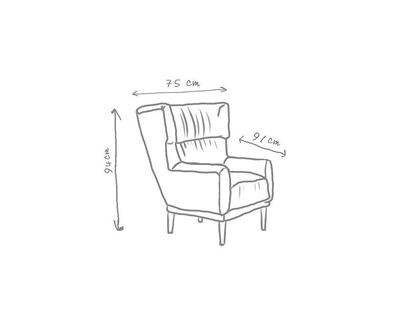 Oscar Low Armchair