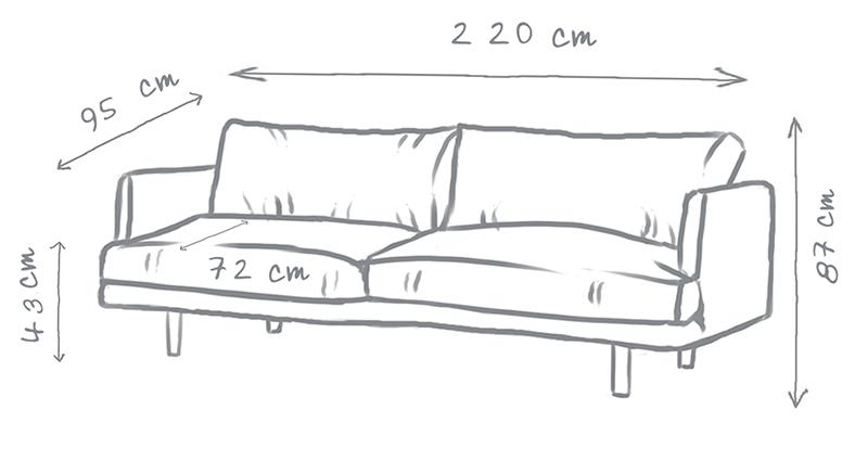 Ottilie Modern Sofa