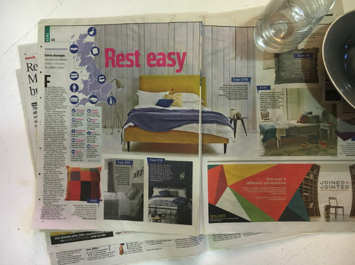 Trixabelle Bed in Sunday Times