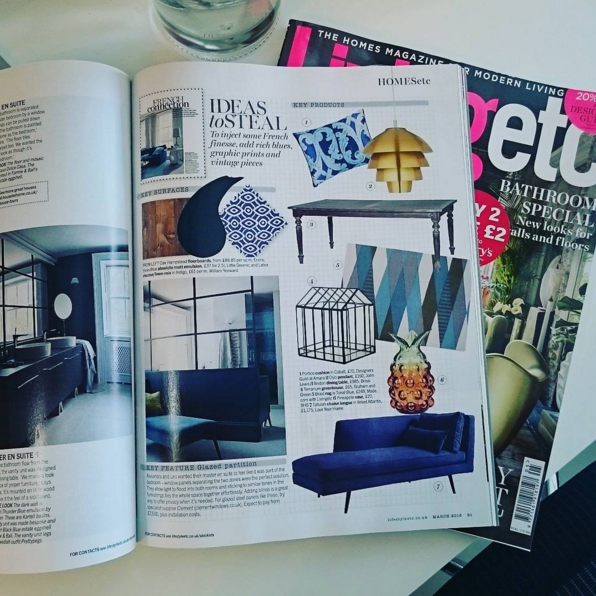 Tallulah Chaise Longue Featured in LivingEtc