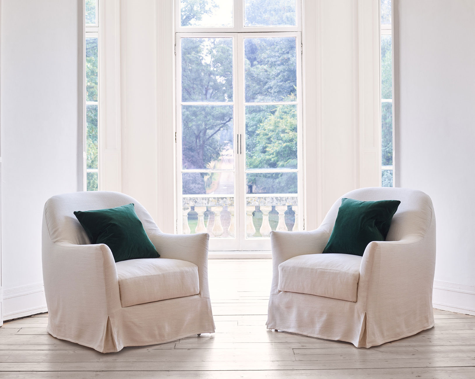 bloomsbury loose cover chair