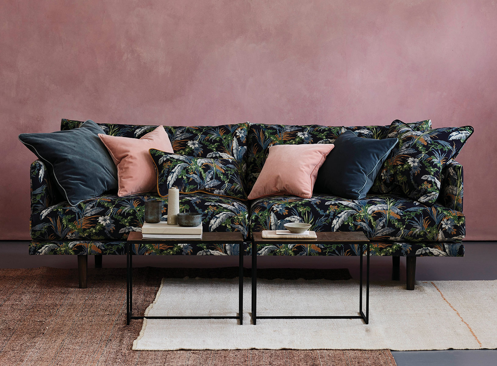 Ottilie Botanical Sofa