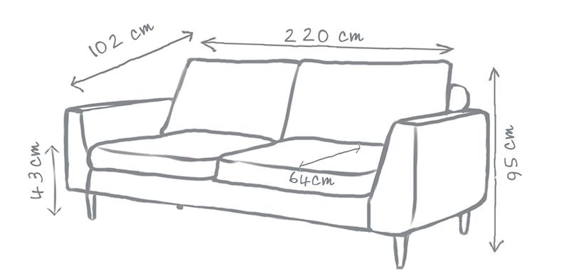 Jake Modern Sofa