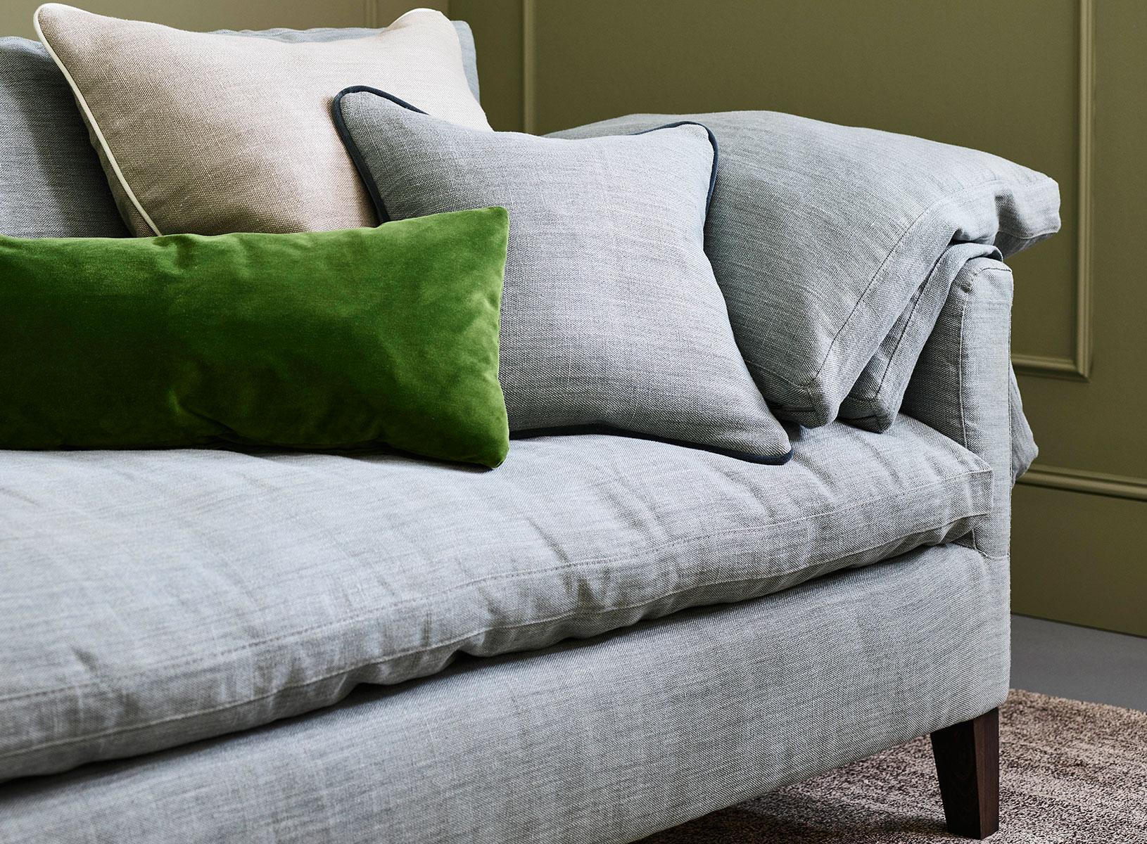 Jude sofa with cushions
