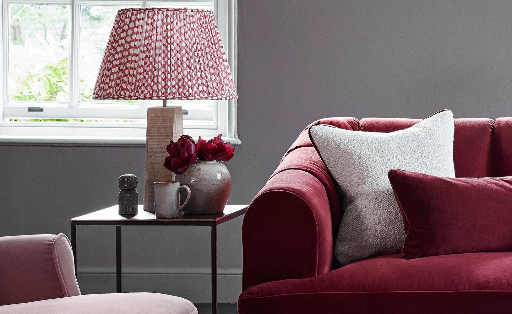 Lady Grey Sofa