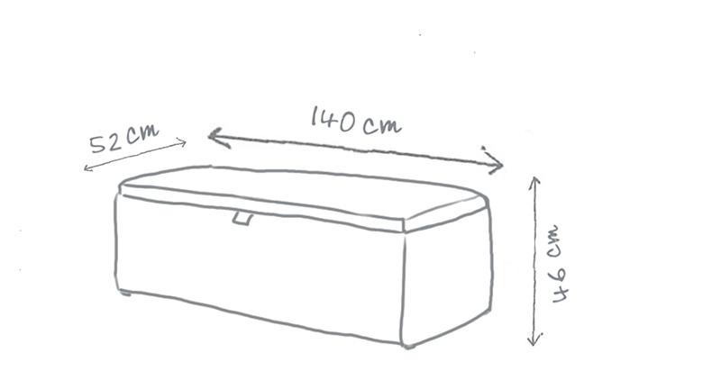 Primrose Blanket Box