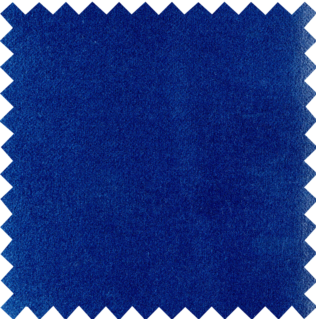 2LG Electric Blue Cotton Velvet