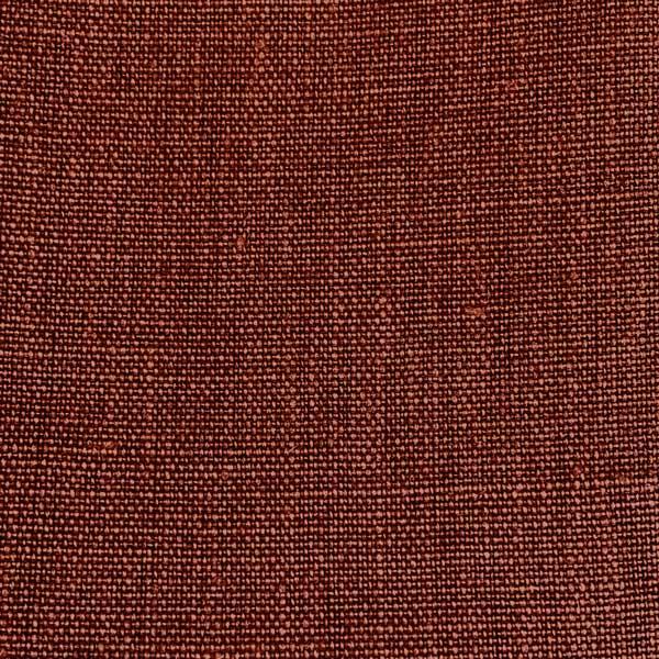 Stain Resistant Linen Terracotta