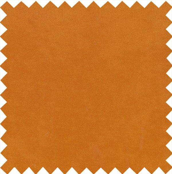 Stain Resistant Velvet Burnt Orange